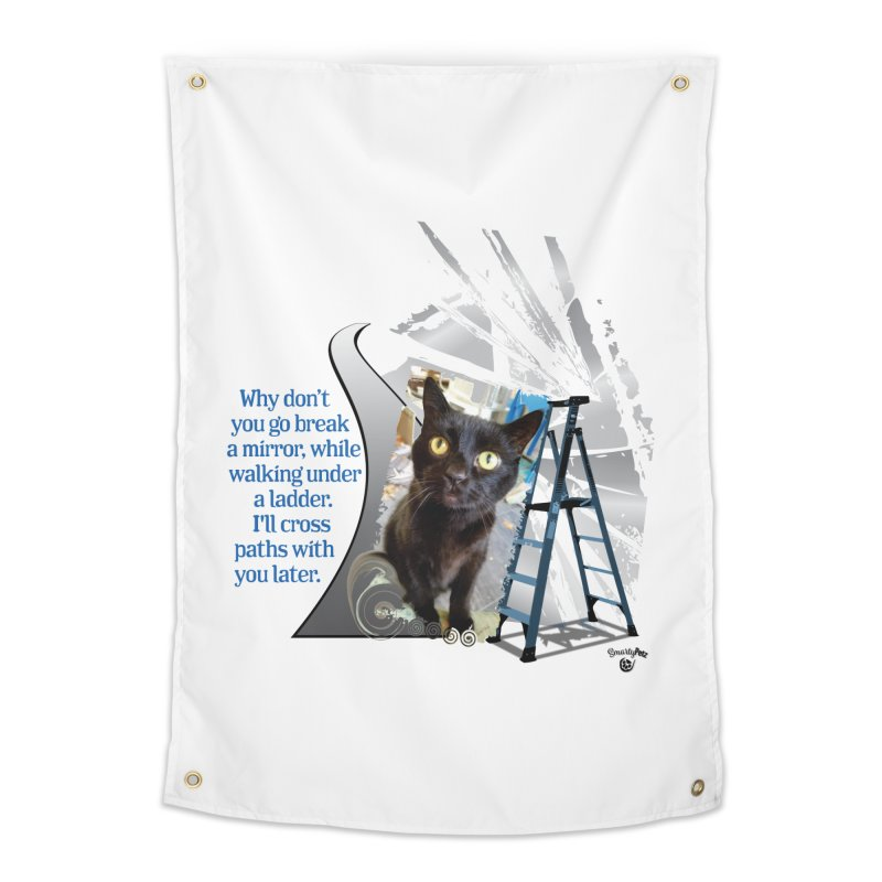 Break a mirror Home Tapestry by Smarty Petz's Artist Shop