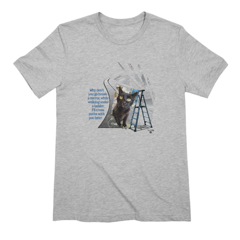 Break a mirror Men's Extra Soft T-Shirt by Smarty Petz's Artist Shop