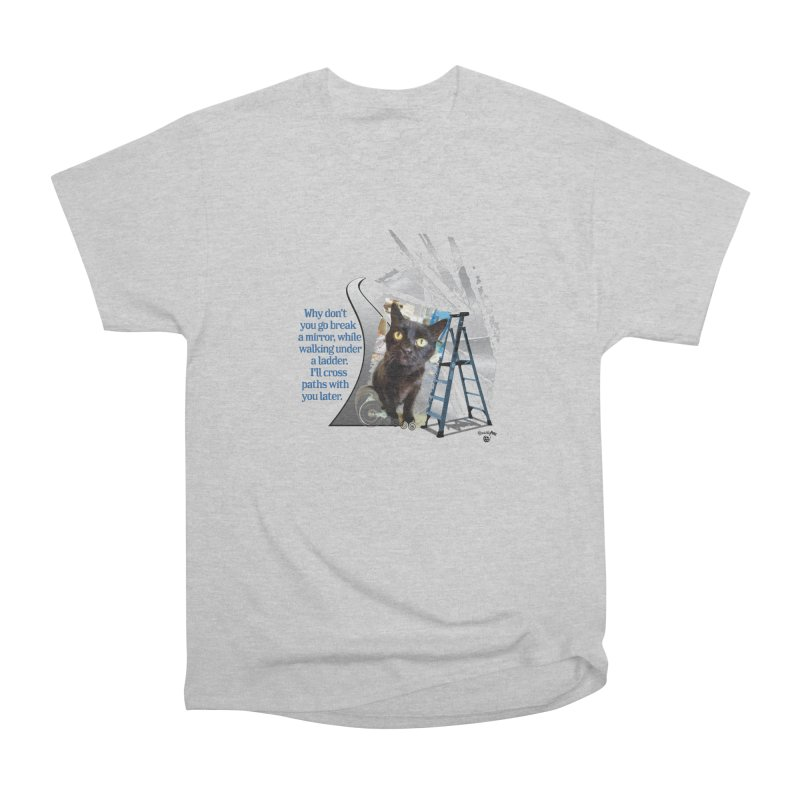 Break a mirror Women's Heavyweight Unisex T-Shirt by Smarty Petz's Artist Shop