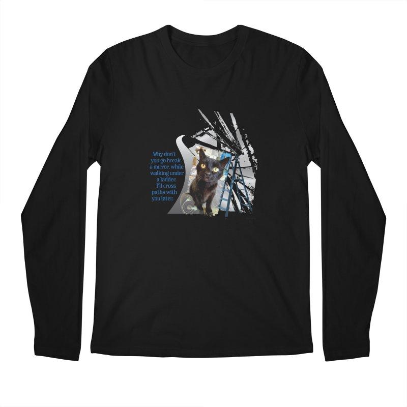 Break a mirror Men's Longsleeve T-Shirt by Smarty Petz's Artist Shop