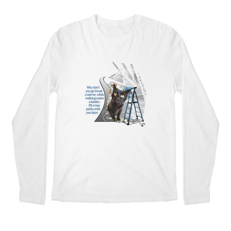 Break a mirror Men's Regular Longsleeve T-Shirt by Smarty Petz's Artist Shop