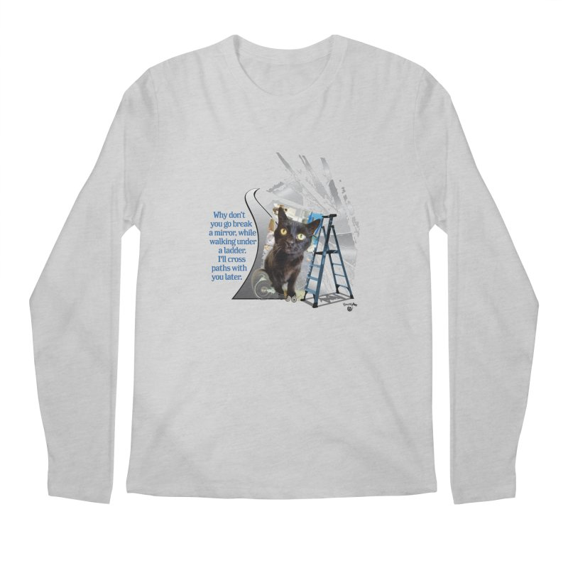Break a mirror Men's Regular Longsleeve T-Shirt by Smarty Petz's Artist Shop