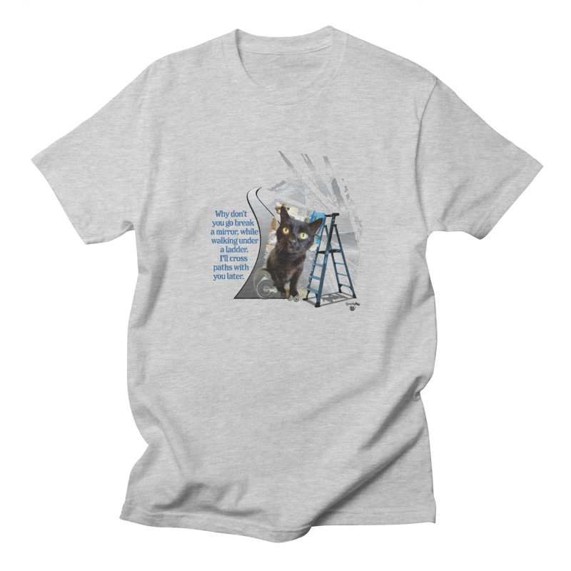 Break a mirror Men's T-Shirt by Smarty Petz's Artist Shop