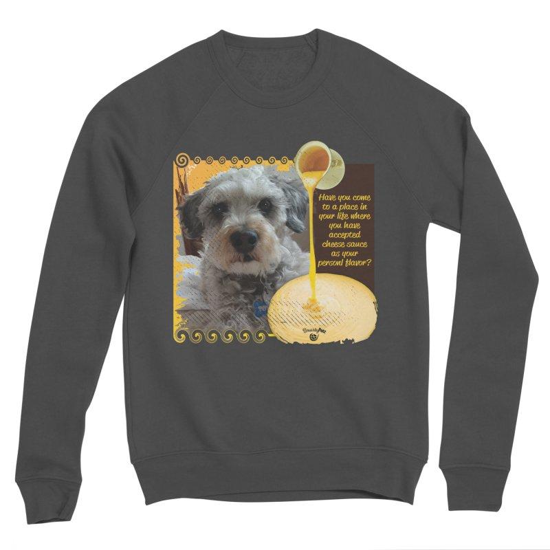 Cheese Sauce Women's Sponge Fleece Sweatshirt by Smarty Petz's Artist Shop