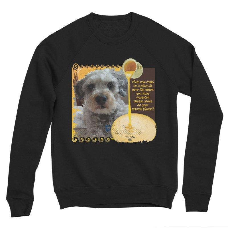 Cheese Sauce Men's Sponge Fleece Sweatshirt by Smarty Petz's Artist Shop