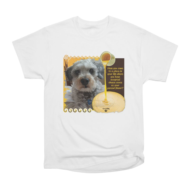 Cheese Sauce Men's Heavyweight T-Shirt by Smarty Petz's Artist Shop