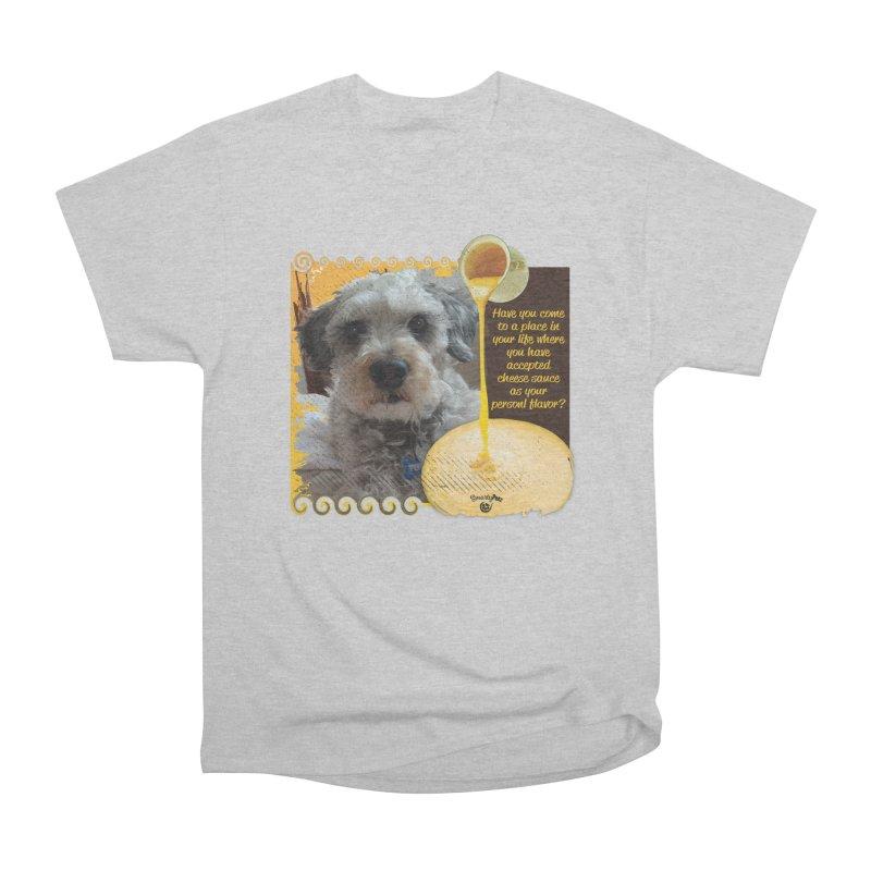 Cheese Sauce Women's Heavyweight Unisex T-Shirt by Smarty Petz's Artist Shop