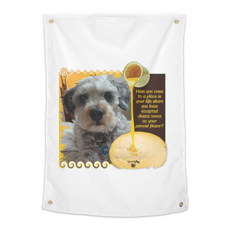 Cheese Sauce Home Tapestry by Smarty Petz's Artist Shop