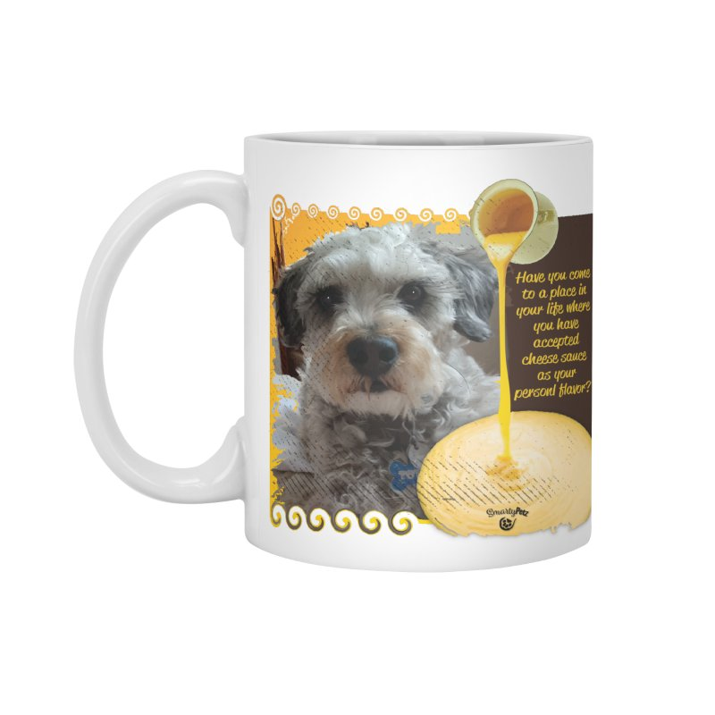 Cheese Sauce Accessories Standard Mug by Smarty Petz's Artist Shop