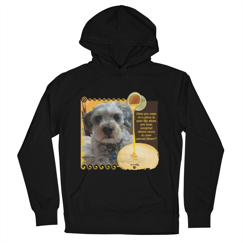 Cheese Sauce Women's French Terry Pullover Hoody by Smarty Petz's Artist Shop