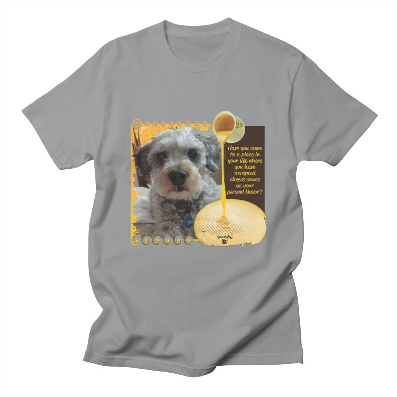Cheese Sauce Men's Regular T-Shirt by Smarty Petz's Artist Shop