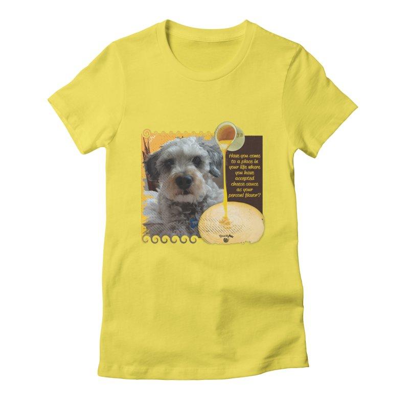 Cheese Sauce Women's T-Shirt by Smarty Petz's Artist Shop