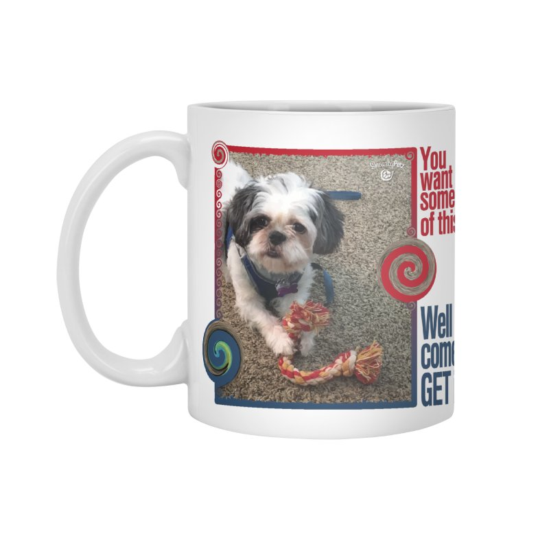 Come get it! Accessories Standard Mug by Smarty Petz's Artist Shop