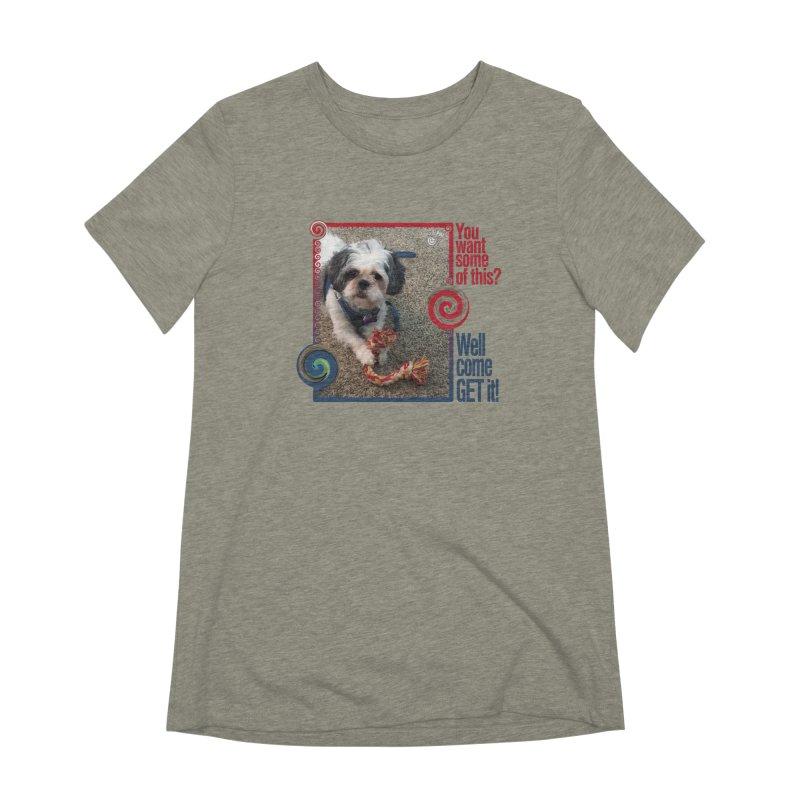 Come get it! Women's Extra Soft T-Shirt by Smarty Petz's Artist Shop