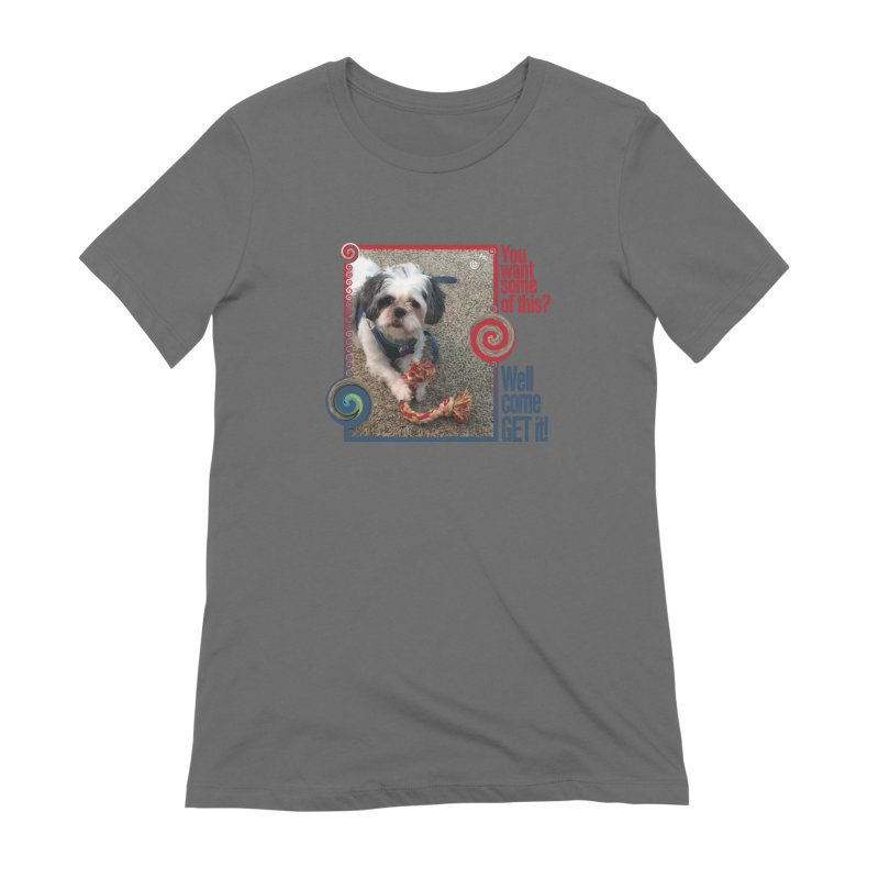 Come get it! Women's Extra Soft T-Shirt by Smarty Petz's Artist Shop
