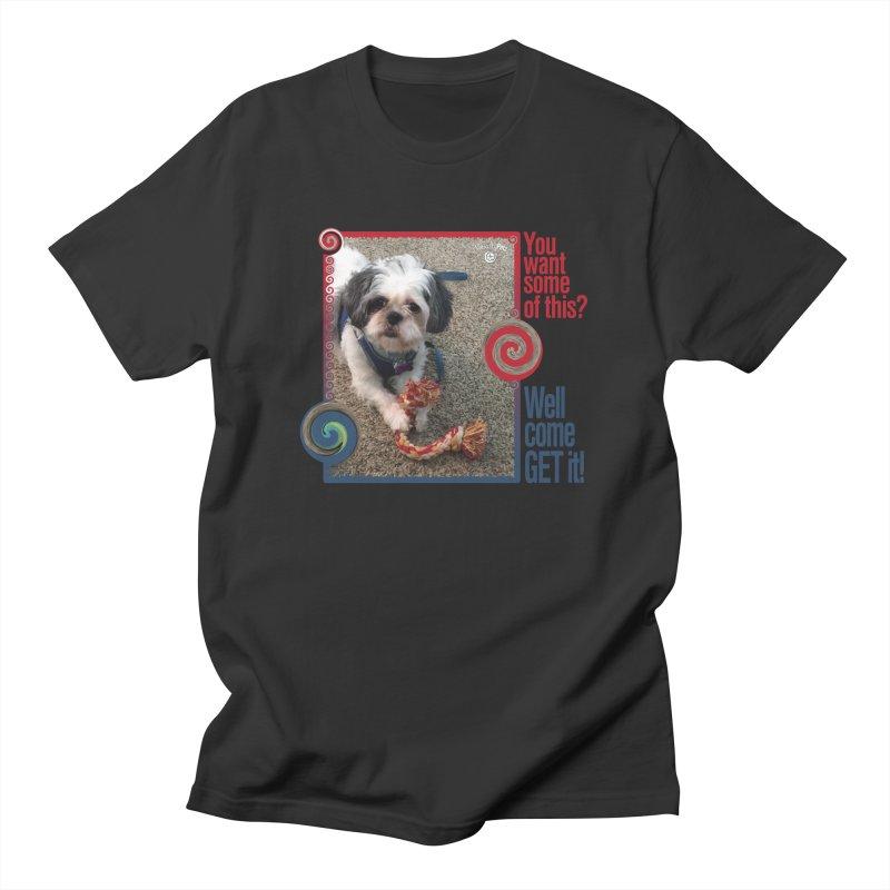 Come get it! Men's T-Shirt by Smarty Petz's Artist Shop