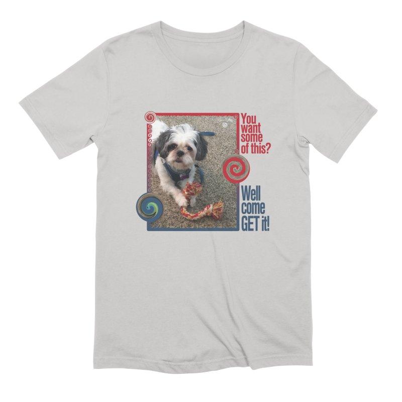 Come get it! Men's Extra Soft T-Shirt by Smarty Petz's Artist Shop