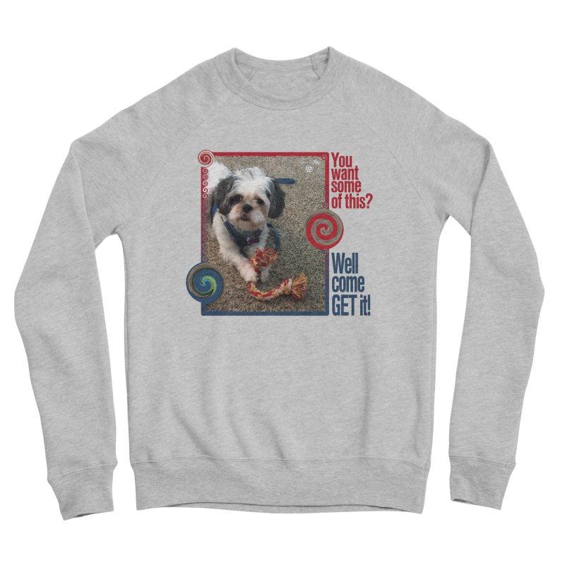 Come get it! Men's Sponge Fleece Sweatshirt by Smarty Petz's Artist Shop