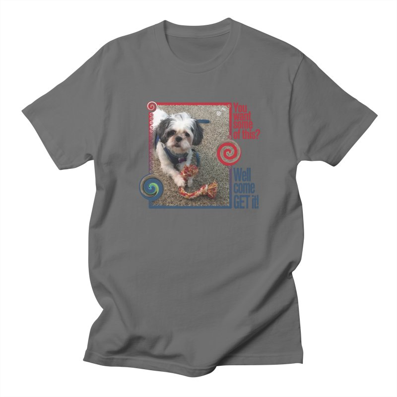Come get it! Men's Regular T-Shirt by Smarty Petz's Artist Shop