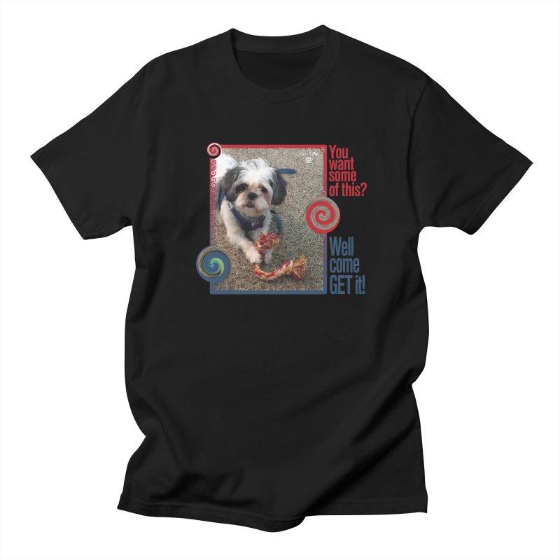 Come get it! Men's Regular T-Shirt by Smarty Petz's Artist Shop