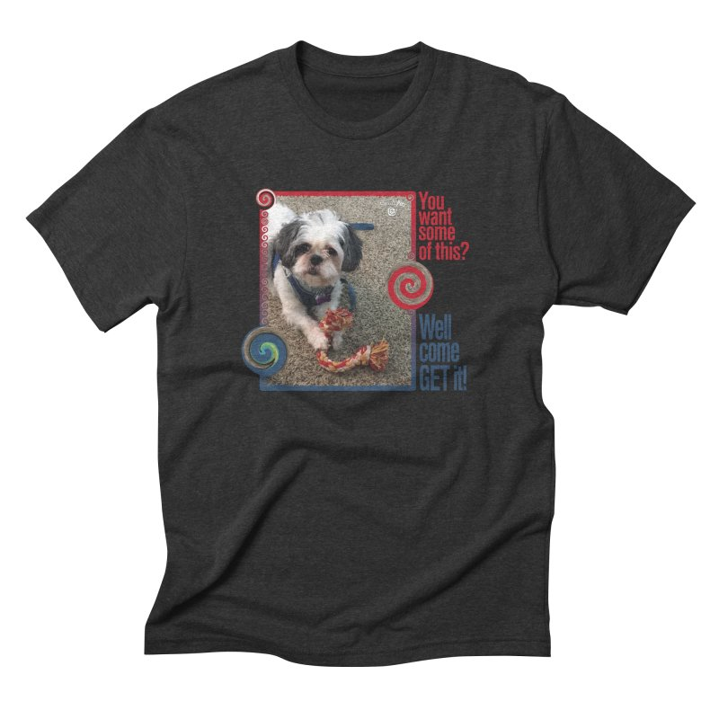 Come get it! Men's Triblend T-Shirt by Smarty Petz's Artist Shop
