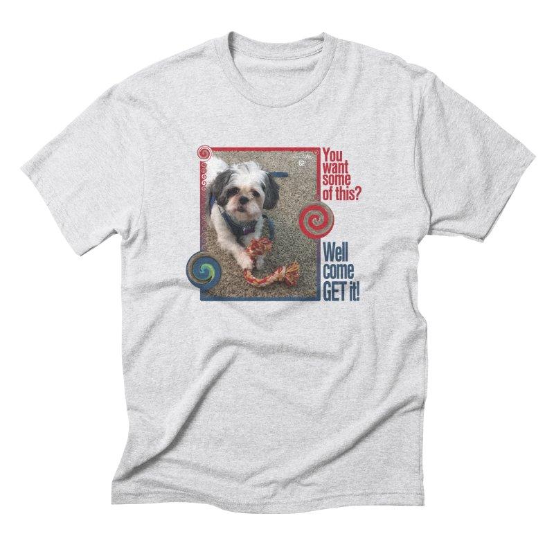 Come get it! Men's Triblend T-Shirt by Smarty Petz's Artist Shop