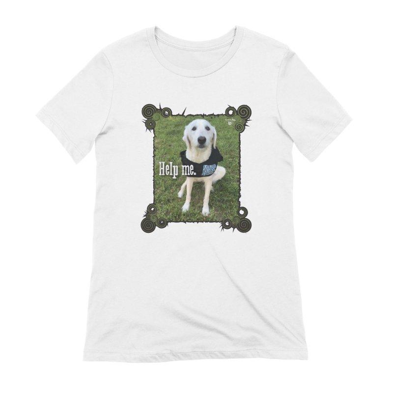 Help me. Women's Extra Soft T-Shirt by Smarty Petz's Artist Shop