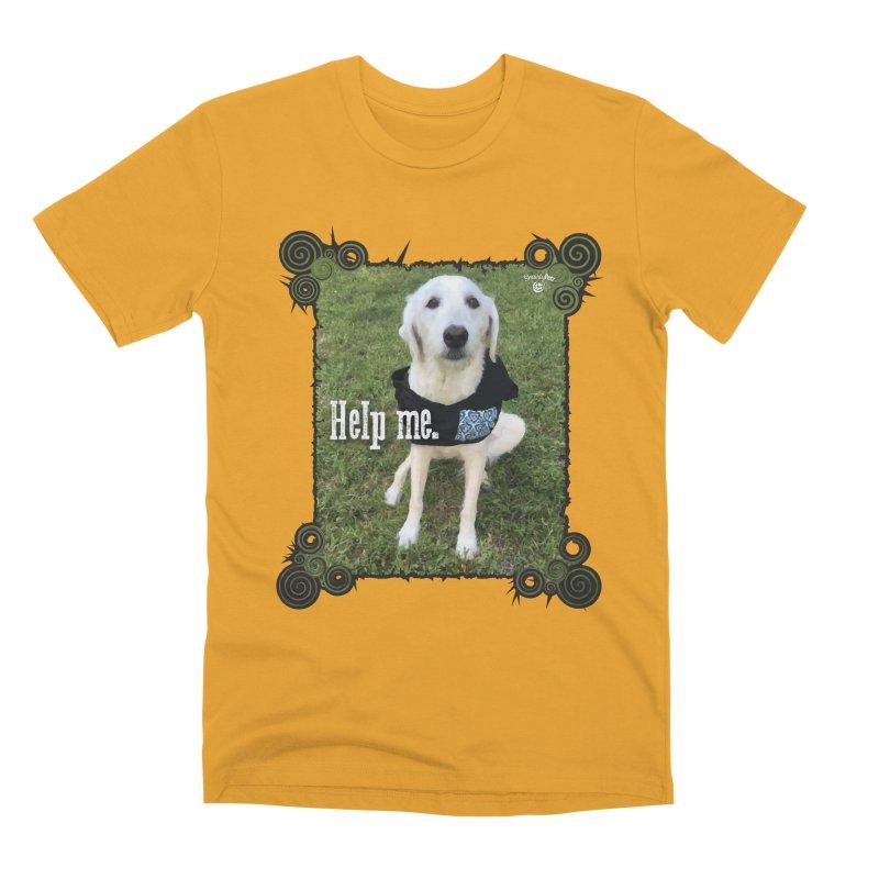 Help me. Men's Premium T-Shirt by Smarty Petz's Artist Shop