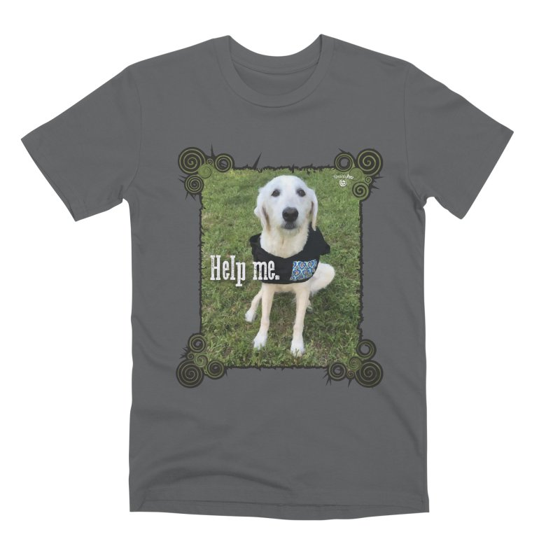 Help me. Men's Premium T-Shirt by Smarty Petz's Artist Shop
