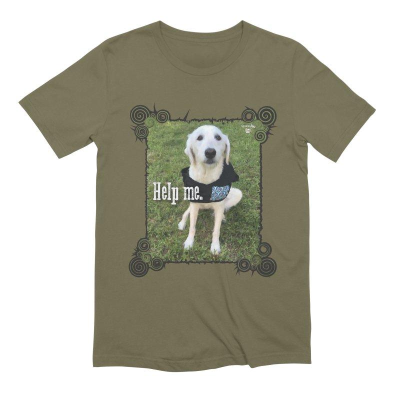 Help me. Men's Extra Soft T-Shirt by Smarty Petz's Artist Shop
