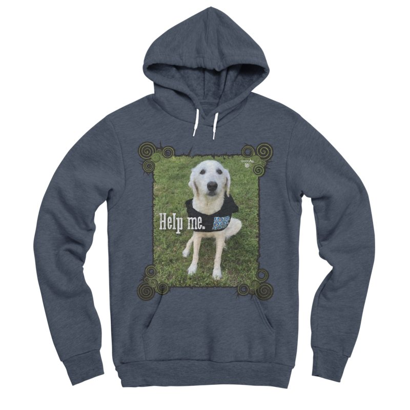 Help me. Men's Sponge Fleece Pullover Hoody by Smarty Petz's Artist Shop
