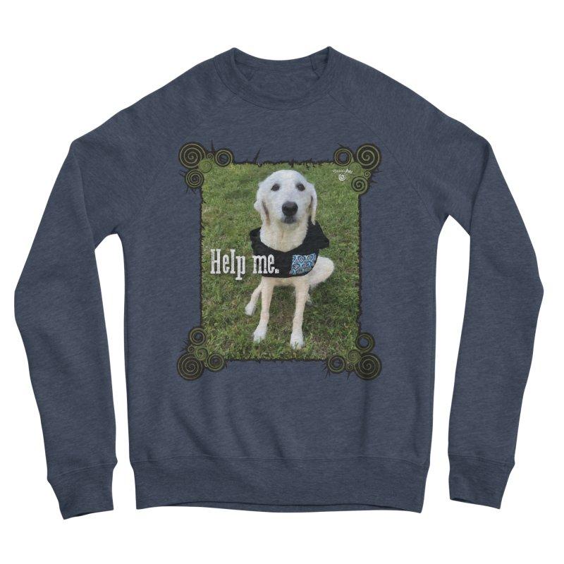 Help me. Men's Sponge Fleece Sweatshirt by Smarty Petz's Artist Shop