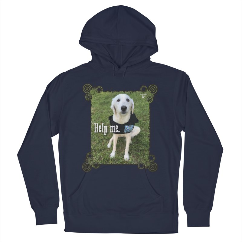 Help me. Men's French Terry Pullover Hoody by Smarty Petz's Artist Shop