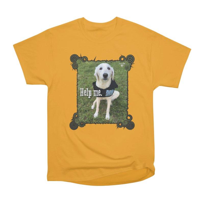 Help me. Women's Heavyweight Unisex T-Shirt by Smarty Petz's Artist Shop