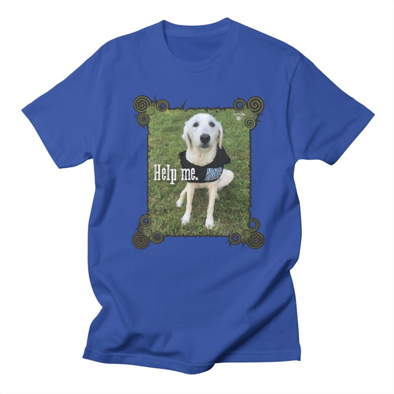 Help me. Men's Regular T-Shirt by Smarty Petz's Artist Shop