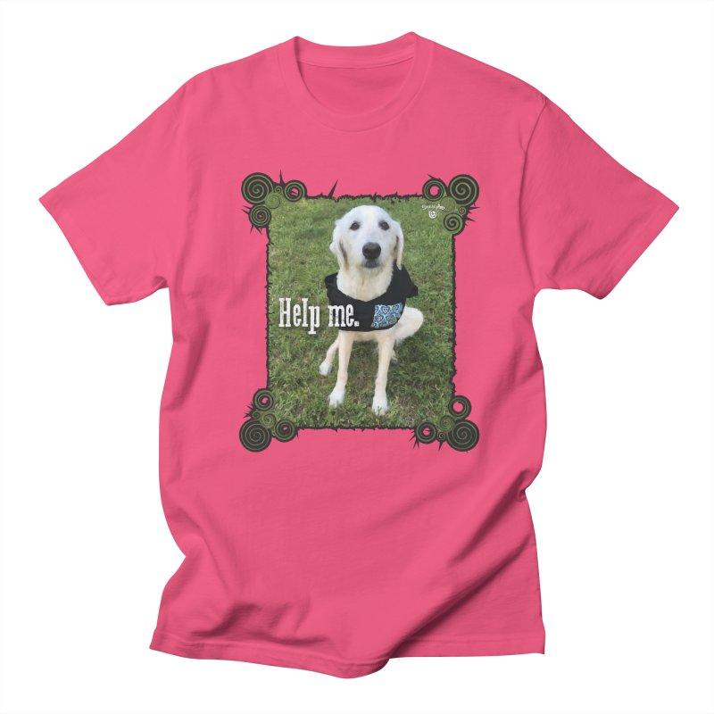 Help me. Men's Regular T-Shirt by Smarty Petz's Artist Shop