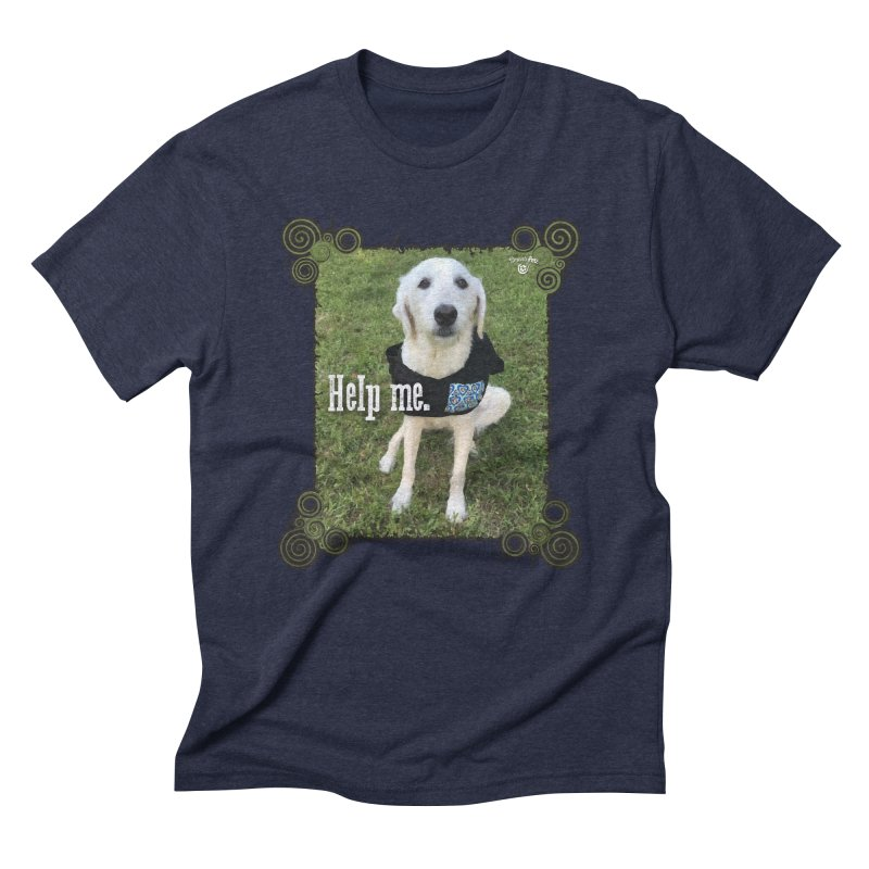 Help me. Men's Triblend T-Shirt by Smarty Petz's Artist Shop
