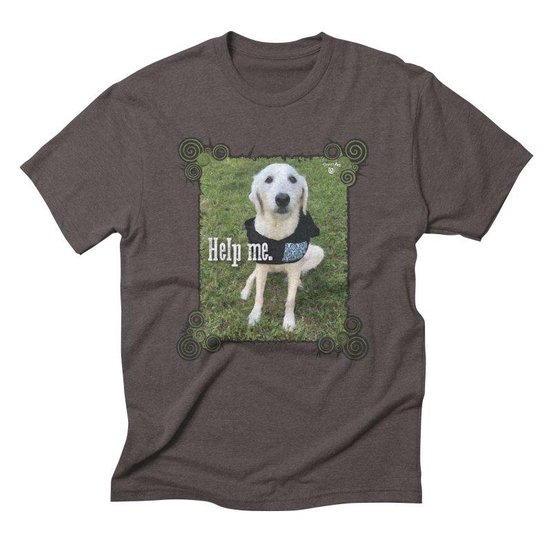 Help me. Men's Triblend T-Shirt by Smarty Petz's Artist Shop