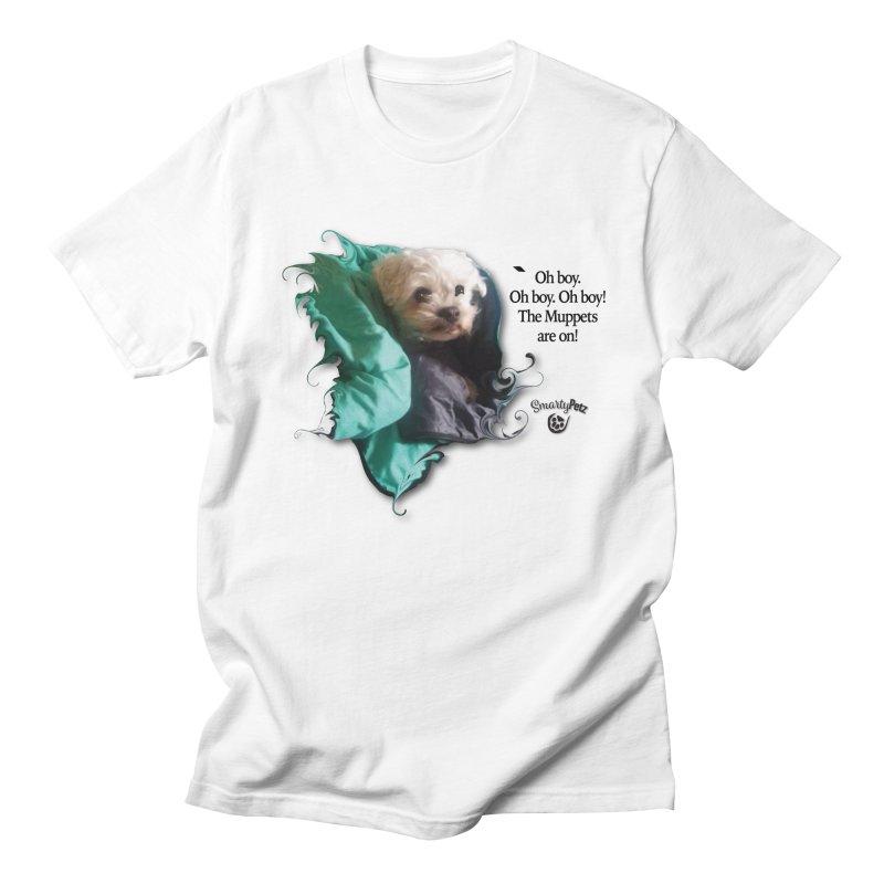 Oh boy. Oh boy. Oh boy! Women's Regular Unisex T-Shirt by Smarty Petz's Artist Shop