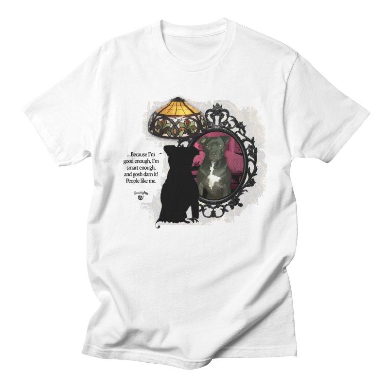 Gosh darn it people like me. Men's T-Shirt by Smarty Petz's Artist Shop