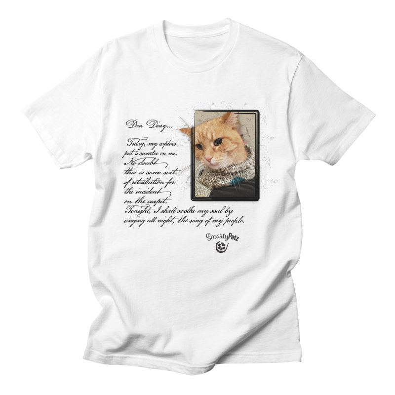 Dear Diary... Women's Regular Unisex T-Shirt by Smarty Petz's Artist Shop