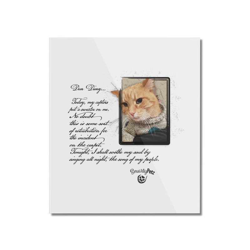 Dear Diary... Home Mounted Acrylic Print by SmartyPetz's Artist Shop