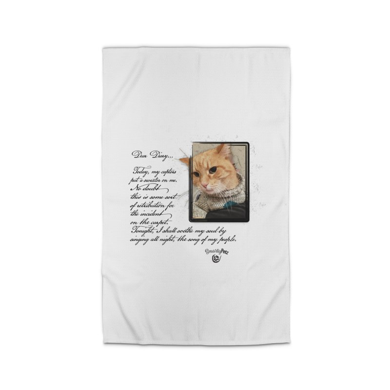 Dear Diary... Home Rug by Smarty Petz's Artist Shop
