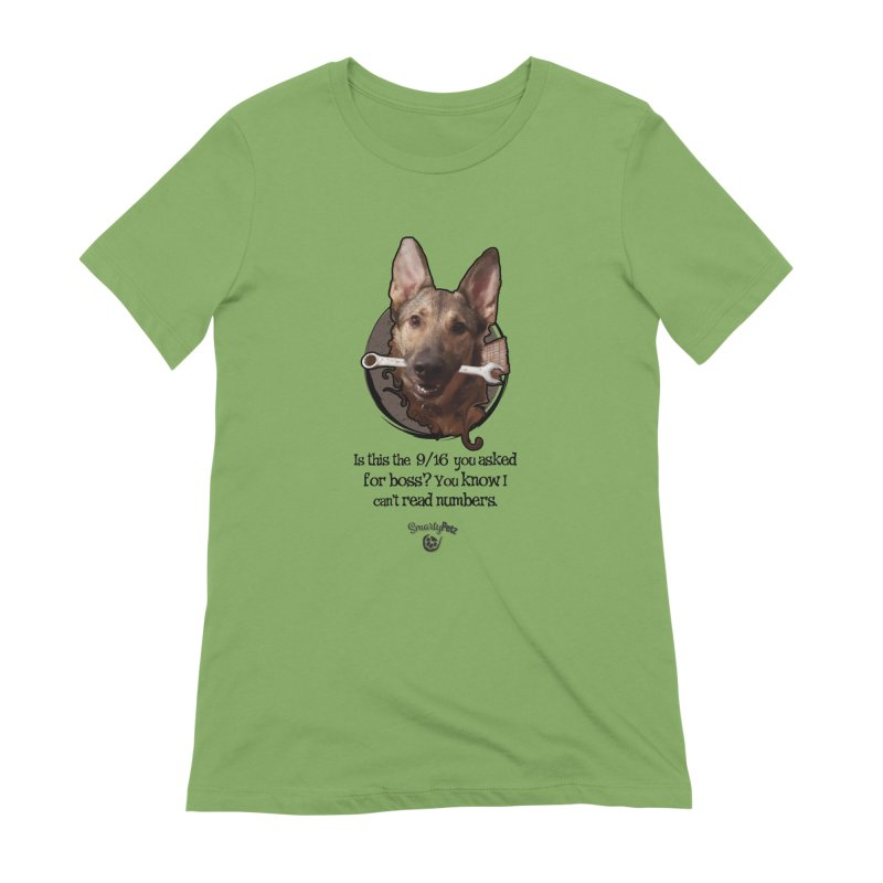 Is this right boss? Women's T-Shirt by Smarty Petz's Artist Shop