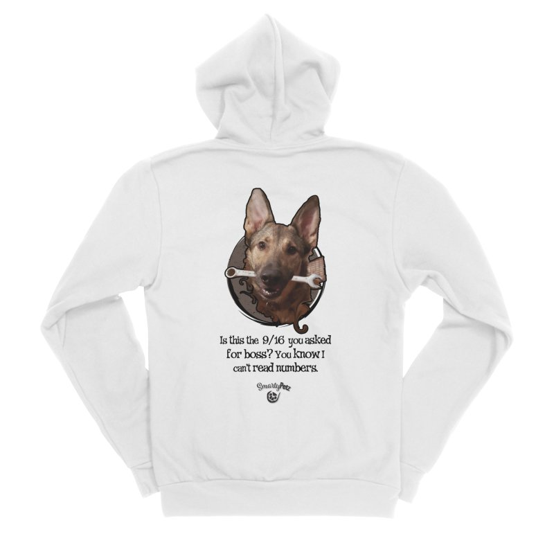 Is this right boss? Men's Sponge Fleece Zip-Up Hoody by Smarty Petz's Artist Shop