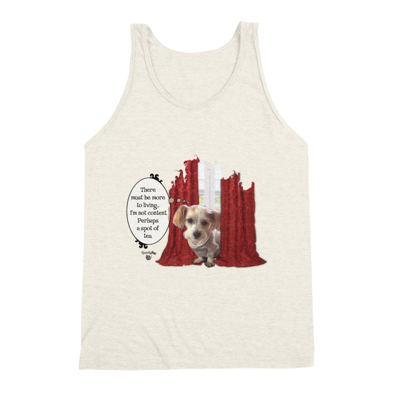 I'm not content Men's Triblend Tank by Smarty Petz's Artist Shop