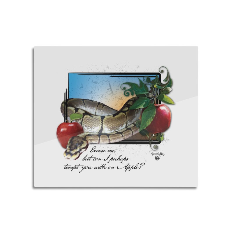 Tempting Apple Home Mounted Acrylic Print by SmartyPetz's Artist Shop