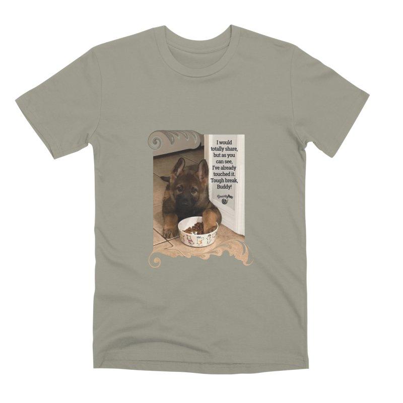 Already touched it Men's Premium T-Shirt by Smarty Petz's Artist Shop