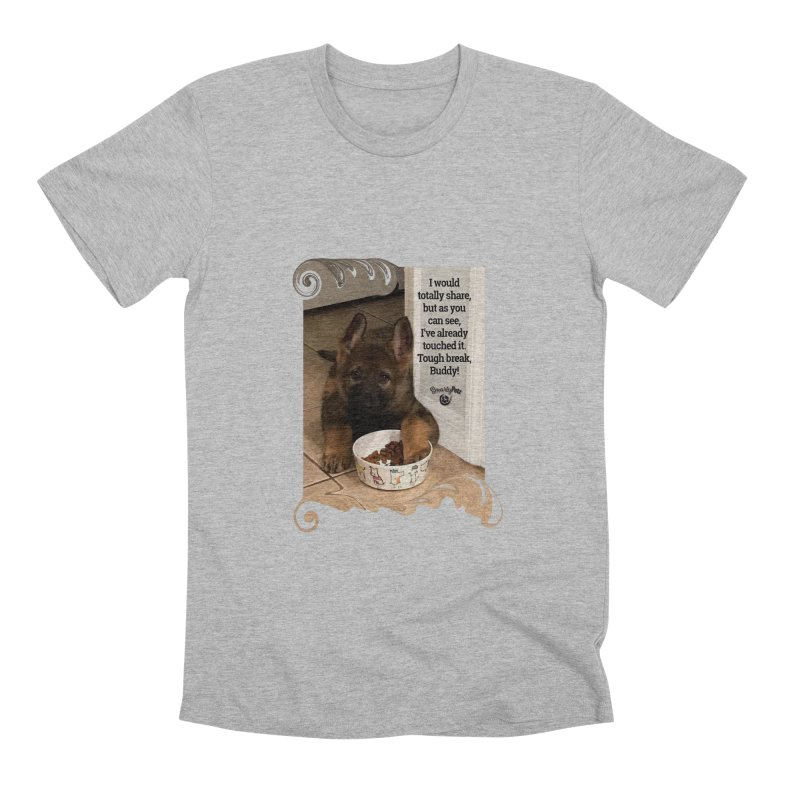 Already touched it Men's Premium T-Shirt by Smarty Petz's Artist Shop