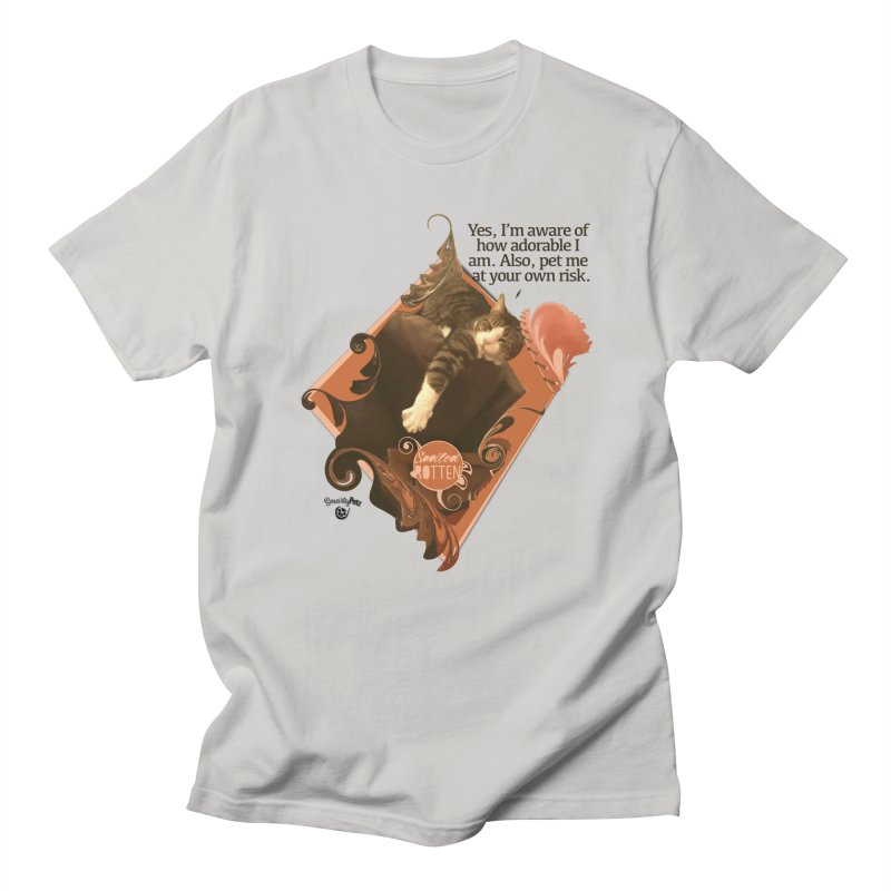 Adorable Men's T-Shirt by Smarty Petz's Artist Shop